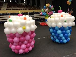 mufinki z balonów
