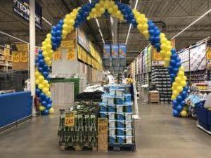 łuk-z-balonów-duża-dekoracja-balonowa-Częstochowa-w-kolorach-firmowych