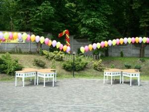 łuki helowe na pierwsze urodziny przedszkola