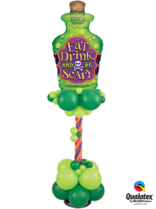 balon-butelka-mikstura-halloween-dekoracja-balonami-imprezy