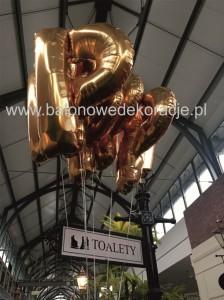 balony litery foliowe z helem