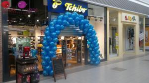 brama balonowa - brama z balonów
