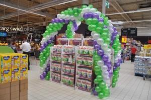 dekoracja balonowa wsparcie sprzedaży