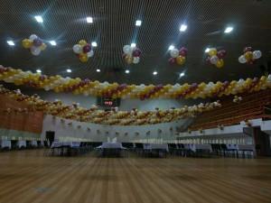 dekoracja sali na obchody barbórkowe