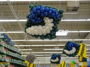 kapsułka piorąca z balonów