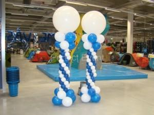 kolumny z balonów - kolumny balonowe