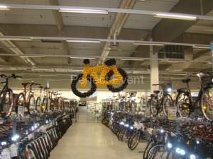 rower z balonów