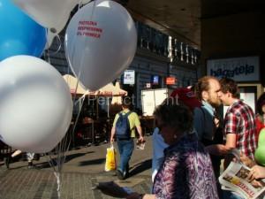 rozdawanie balonów - serwis balonowy